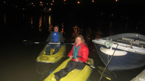 maybe more midnight kayaking awaits......