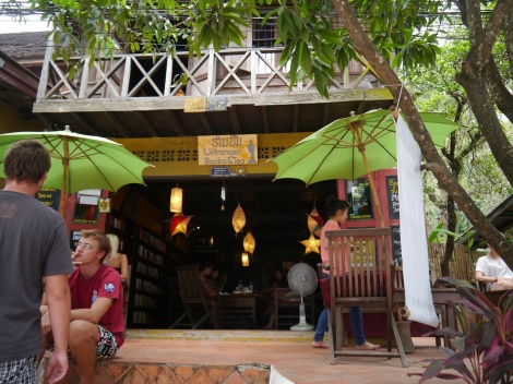 tea and books in Luang Prabang. Inspiration