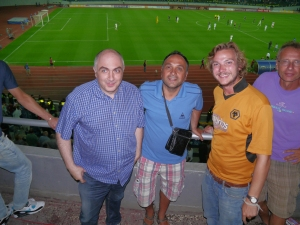 at dinamo tblisi vs wolves. sorry I mean spurs