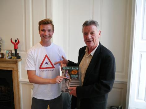 meeting Michael Palin last year
